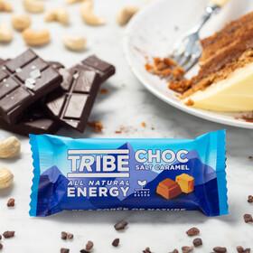 TRIBE Infinity Energy Oat Bar Box 16x50g, choc salt caramel